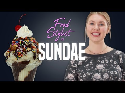 The Perfect Scoop Of Ice Cream and More Styling Tricks | Food Stylist | Well Done
