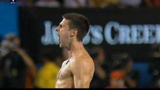 Djokovic -  Nadal (Finale AO 2012 matchpoint)