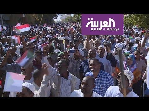 جدل بشأن تظاهرة الزحف الأخضر في السودان المؤيدة للبشير  - نشر قبل 4 ساعة