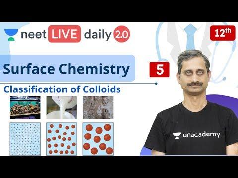 NEET: Surface Chemistry - L5 | Class 12 | Live Daily 2.0 | Unacademy NEET | Anoop Sir