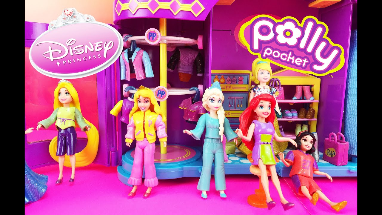 Polly Pocket Dressing Room Game