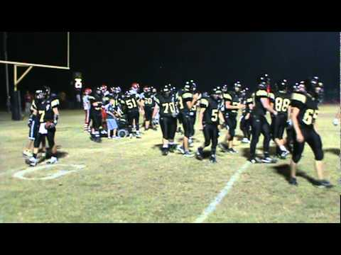 Dylan Galloway, Severe Handicap Student for Manila Lions Scores Touchdown