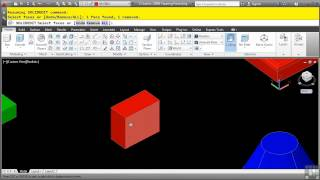 Autocad 3d Tutorial | Tapering Faces