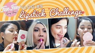 [Fun Fun Tyang Amy] Vlog 9 : Lipstick Challenge