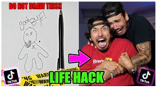 We TESTED Viral TikTok Life Hacks.... (SCARY) *PART 21*