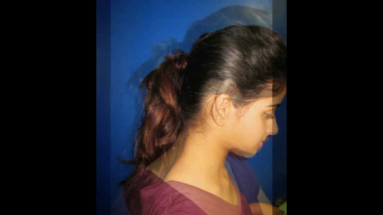 HOW TO MAKE DEEPIKA'S MESSY, CURLY AND POOFY PONYTAIL ...