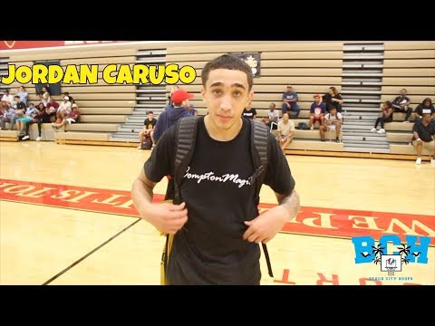 Middlebrooks Academy G Jordan Caruso | Raw Highlights @ The LEAGUE