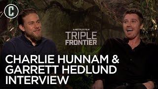 Triple Frontier: Charlie Hunnam & Garrett Hedlund Interview