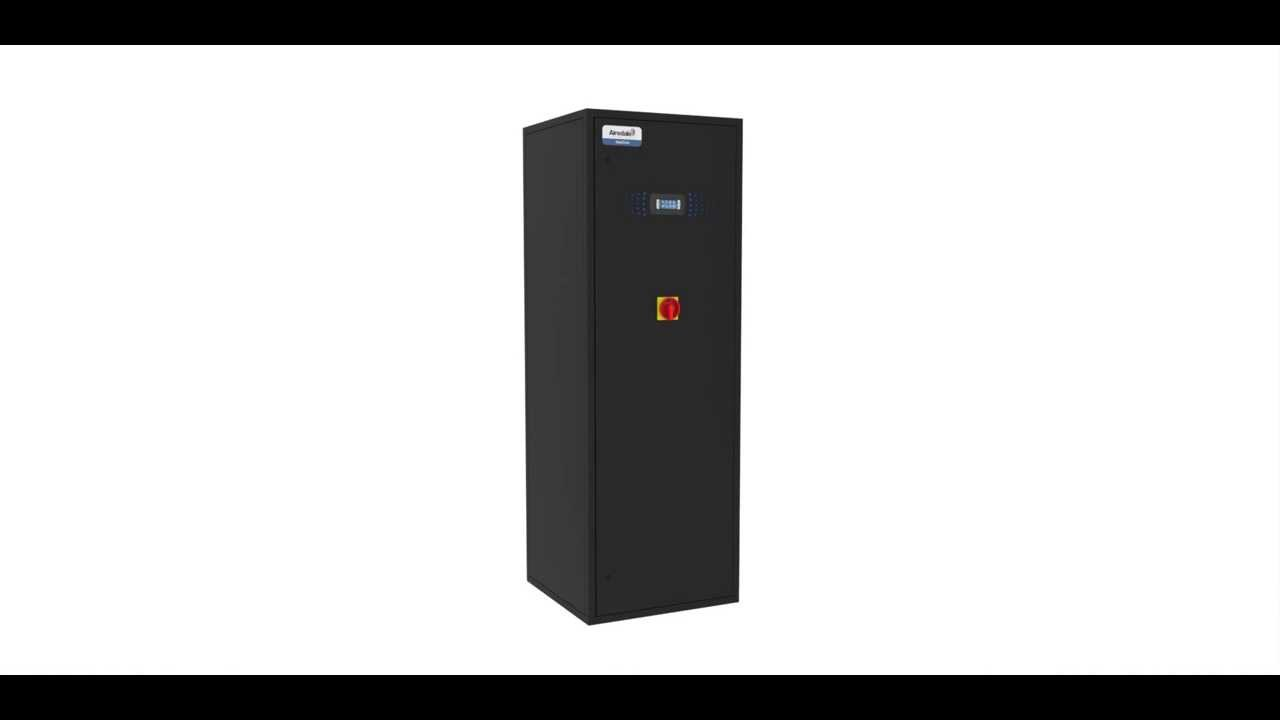 Cooling Unit Animation : Easicool™ kw precision air conditioning animation