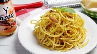 Espagueti a la carbonara Gaucha Ybarra