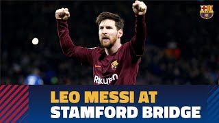 [BEHIND THE SCENES] Following Leo Messi against Chelsea