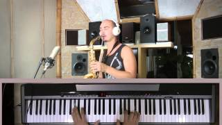 Sting - Shape Of My Heart Saxophone \u0026 Piano Cover Version - Саксофон и фортепьяно - Стинг