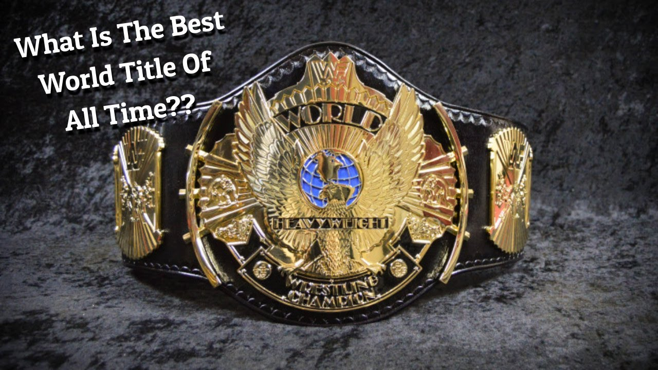 What Is The Best World Title Design Of All Time???