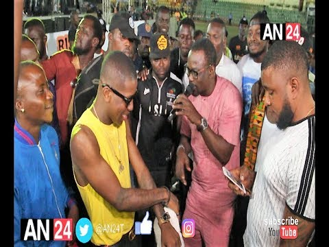 PASUMA VS SMALL DOCTOR: MUSICAL FATHER AND SON TACKLE EACH OTHER AT AGEGE TOWNSHIP STADIUM