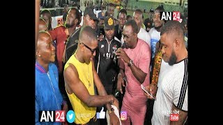 PASUMA VS SMALL DOCTOR MUSICAL FATHER AND SON TACKLE EACH OTHER AT AGEGE TOWNSHIP STADIUM
