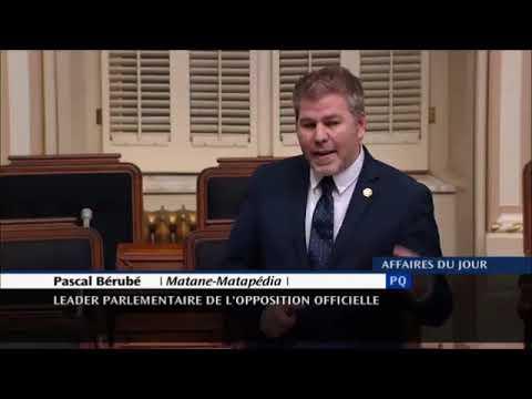 Ultime discours de Pascal Bérubé sur l'UPAC – 60 minutes, sans notes!