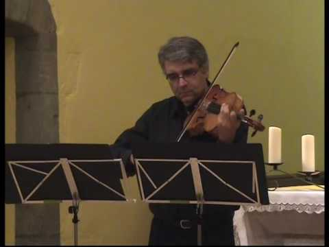 "Pierre Henri XUEREB ,viola,performs ""CORDE"" by Alessandro SOLBIATI ,1st movement"