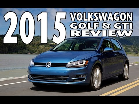 Test Drive and Review of the 2015 Volkswagen Golf GTI  YouTube