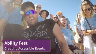 Ability Fest - Creating Accessible Events