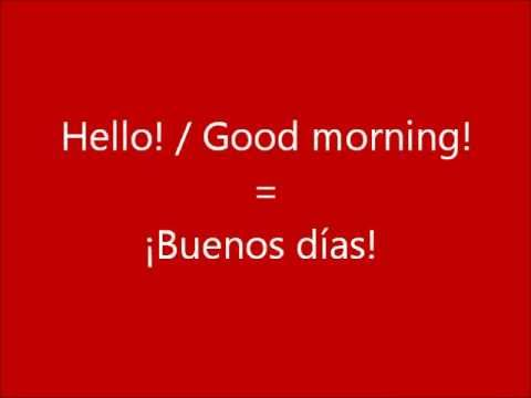 Learn a Language - Let's Learn Spanish Part 1 - Get Free Spanish Lessons Here