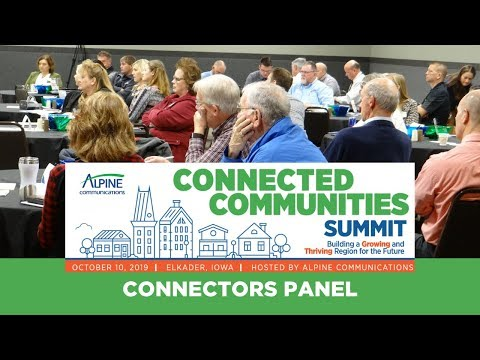 Connected Communities Summit Connectors Panel