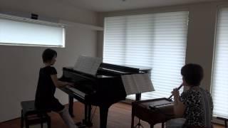 森山良子の「涙そうそう」を、鍵盤ハーモニカ、リコーダー、ピアノ用に...