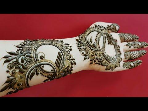 Gulf Henna Design 20 Heena Vahid Youtube