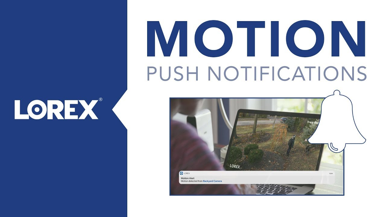 Motion Push Notifications With Lorex - The Kids Are Home From School