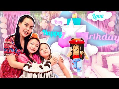 Bug's 24 Hour Roblox Birthday Celebration!   Little Big Toys Family