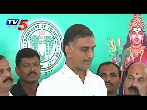 Harish Rao Counters to Chandrababu : TV5 News