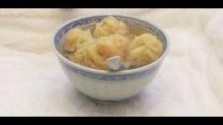 Won Ton Soup In Hong Kong's Mak's Noodles Restaurant