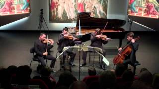 The Ebène Quartet plays Brahms Quartet Nr. 2 a minor