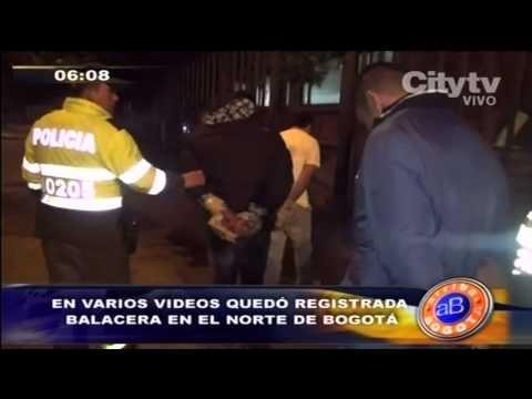 Citytv: En varios vídeos quedó registrada balacera en el norte de Bogotá