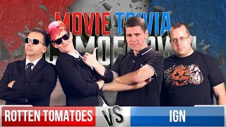 Rotten Tomatoes VS IGN - Movie Trivia Schmoedown