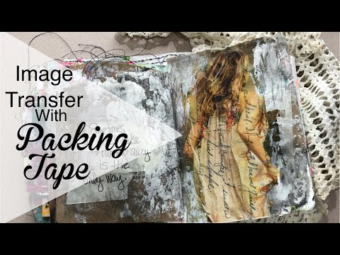 Image Transfer With Packing Tape