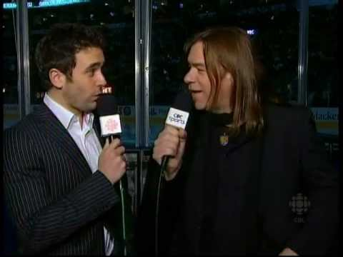 Alan Doyle & Allan Hawco Republic Of Doyle Interview, Hockey Night, Toronto