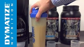 Protein Shake Recipes - Ultimate Iced Coffee - Dymatize