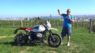 Sport-Traktor - BMW RnineT Urban G/S 2018 - Zonkos Sicht