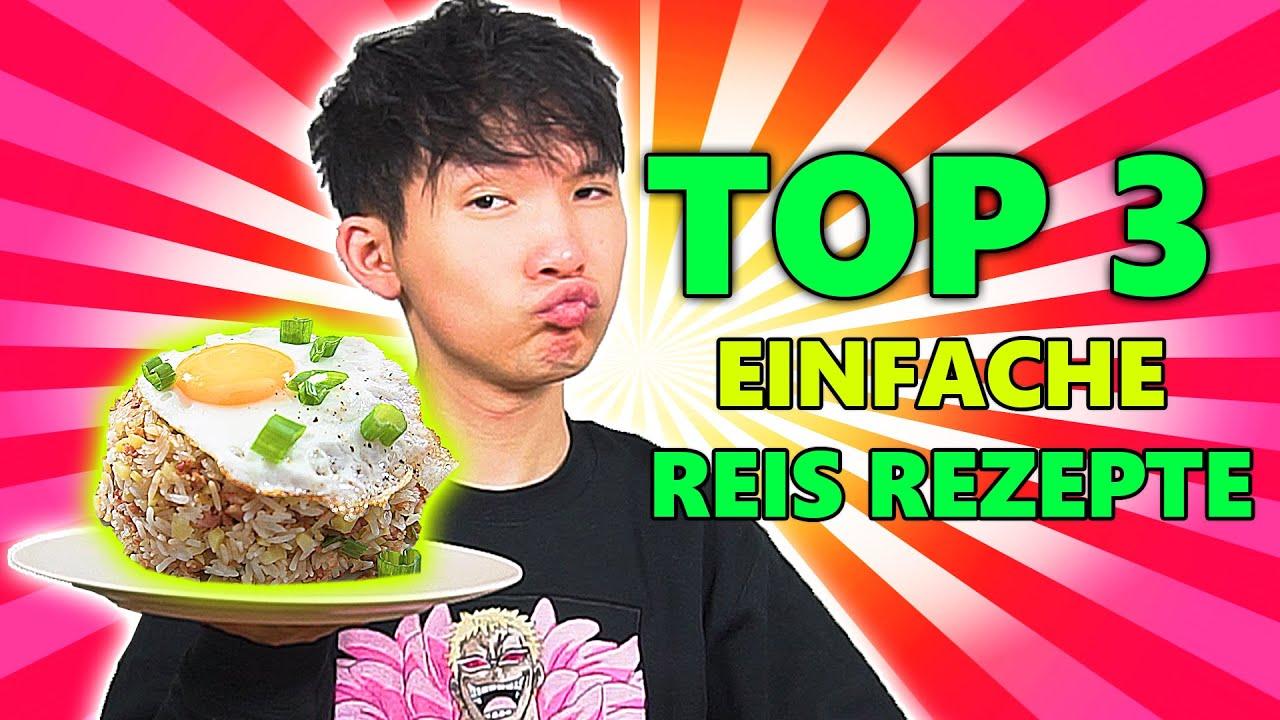 Meine TOP 3 EINFACHE gebratene Reis Gerichte 🍚 | Minh lee