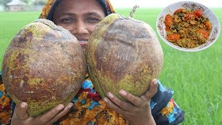 Delicious Narkel Chingri Recipe Farm Fresh Cooking Coconut Shrimp Curry Village Food