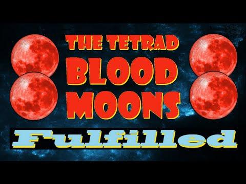 The Tetrad Blood Moon Fulfilled