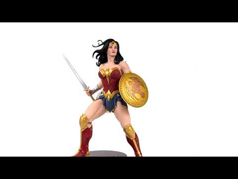 DC Designer Series: Wonder Woman by Frank Cho - 360 Video