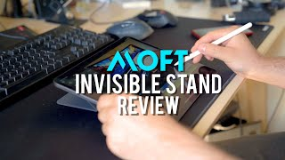 MOFT Invisible Laptop Stand - an iPad Pro Review & Giveaway