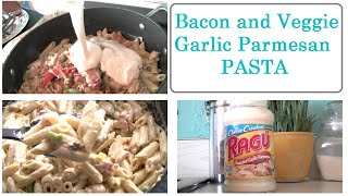 Cook With Sofia: Bacon, Chicken & Veggie Pasta