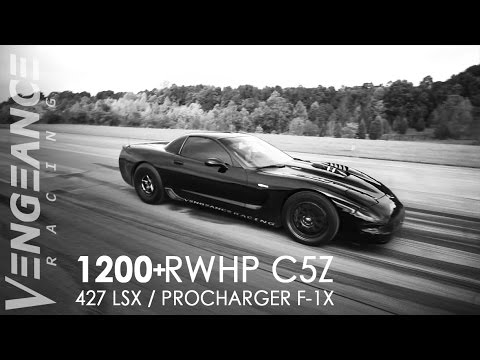 1200+ RWHP Supercharged C5 Z06 runs 191MPH (Half Mile World Record) Vengeance Racing