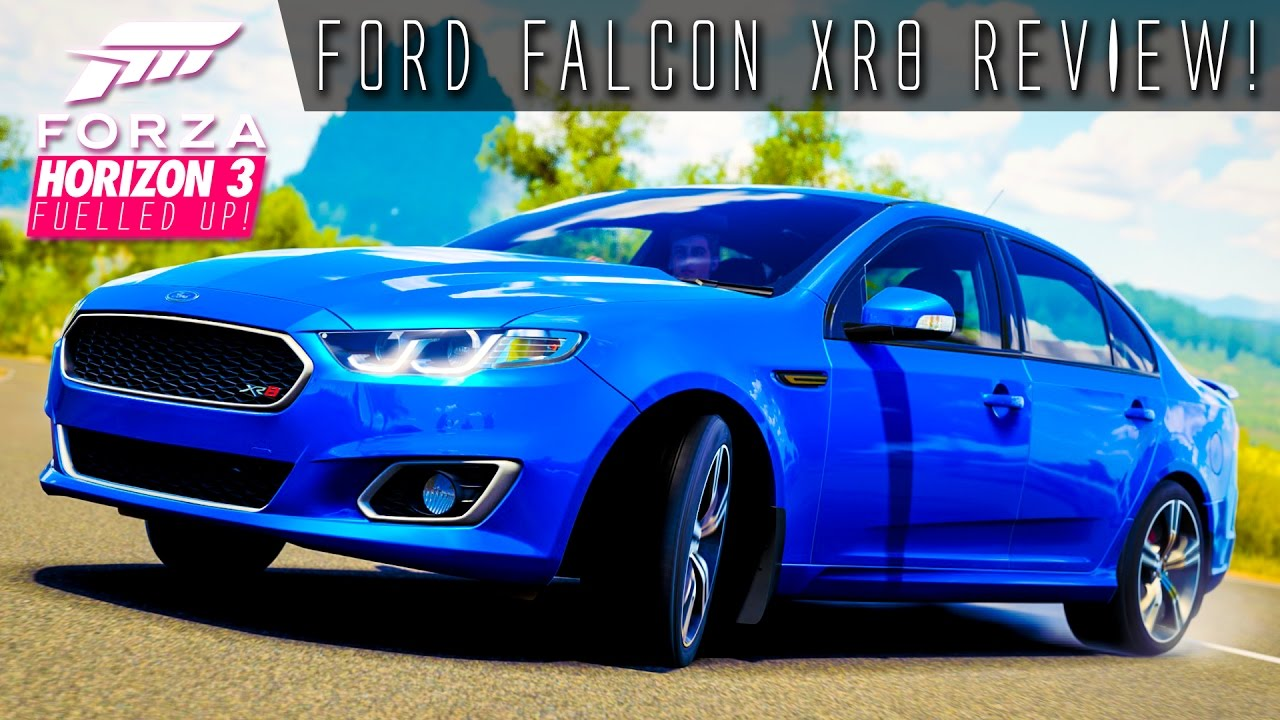 ford falcon xr8 review  forza horizon 3 fuelled up ep