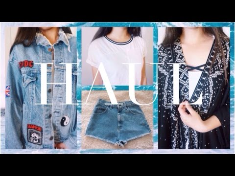 SRING HAUL// F21, AA, American vintage, and more // Jasmine ngo