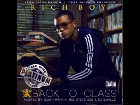 *NEW* RICH BOYCROWN THE KING   RICH BOYBACK TO CLASS MIXTAPE