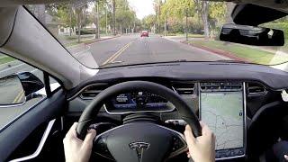 2015 Tesla Model S P85 - WR TV POV Test Drive