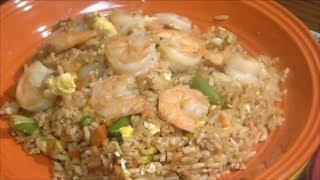 Shrimp Fried Rice - Easy Chinese Recipe